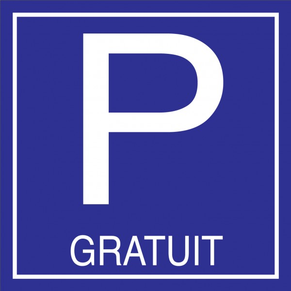 Place de parking gratuit
